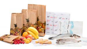 Bolsas de alimentación para comercios